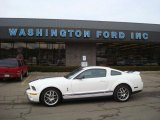 2007 Performance White Ford Mustang Shelby GT500 Coupe #26881722