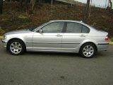 2004 Titanium Silver Metallic BMW 3 Series 325xi Sedan #26881729