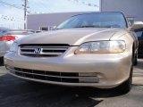2002 Naples Gold Metallic Honda Accord LX Sedan #26935719
