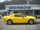 2006 Screaming Yellow Ford Mustang GT Premium Coupe #26935415