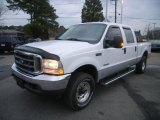 2004 Oxford White Ford F250 Super Duty XLT Crew Cab 4x4 #26935733
