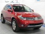 2006 Sunset Red Pearl Metallic Nissan Murano SL AWD #26935738