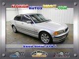 2000 Titanium Silver Metallic BMW 3 Series 323i Sedan #26935883