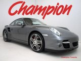 2008 Meteor Grey Metallic Porsche 911 Turbo Coupe #26935308