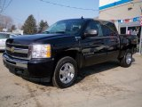 2009 Black Chevrolet Silverado 1500 Hybrid Crew Cab 4x4 #26935309