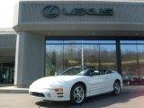 2003 Dover White Pearl Mitsubishi Eclipse Spyder GTS #26935765