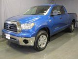 2007 Blue Streak Metallic Toyota Tundra SR5 Double Cab 4x4 #26935615