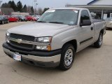 2005 Silver Birch Metallic Chevrolet Silverado 1500 Regular Cab #26935448