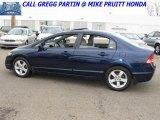2007 Royal Blue Pearl Honda Civic EX Sedan #26935221