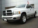 2004 Bright White Dodge Ram 1500 SLT Quad Cab 4x4 #26935361