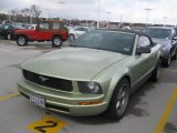 2005 Legend Lime Metallic Ford Mustang V6 Premium Convertible #26935693