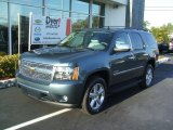 2010 Blue Granite Metallic Chevrolet Tahoe LTZ #26935365