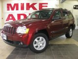 2008 Red Rock Crystal Pearl Jeep Grand Cherokee Laredo #26935526