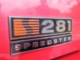 2000 Ford Mustang Saleen S281 Speedster Marks and Logos