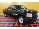 2007 Black Chevrolet Silverado 1500 Work Truck Extended Cab #26996829
