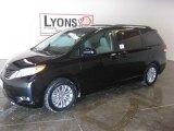 2011 Black Toyota Sienna XLE #26996292