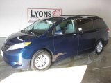 2011 South Pacific Blue Pearl Toyota Sienna XLE #26996314