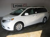 2011 Super White Toyota Sienna Limited #26996315