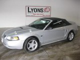 2000 Silver Metallic Ford Mustang GT Convertible #26996329
