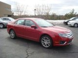 2010 Sangria Red Metallic Ford Fusion SEL V6 AWD #26996603