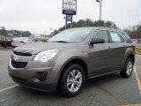 2010 Mocha Steel Metallic Chevrolet Equinox LS #26996735