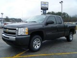 2010 Taupe Gray Metallic Chevrolet Silverado 1500 LS Extended Cab #26996736