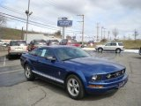 2007 Vista Blue Metallic Ford Mustang V6 Premium Coupe #26996614
