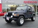 2006 Midnight Blue Pearl Jeep Wrangler Rubicon 4x4 #26996742