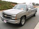 2007 Graystone Metallic Chevrolet Silverado 1500 Classic LS Crew Cab #26996942