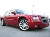 2008 Inferno Red Crystal Pearl Chrysler 300 C HEMI SRT Design #26996489