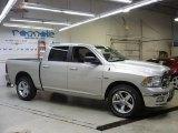 2010 Bright Silver Metallic Dodge Ram 1500 Big Horn Crew Cab 4x4 #26996643