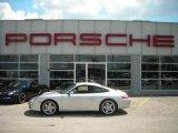 2007 Arctic Silver Metallic Porsche 911 Carrera S Coupe #10231