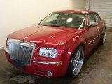 2006 Chrysler 300 Inferno Red Crystal Pearl