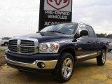 2008 Patriot Blue Pearl Dodge Ram 1500 Big Horn Edition Quad Cab #27051415