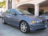 2003 Steel Blue Metallic BMW 3 Series 325i Sedan #27066835