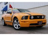 2007 Grabber Orange Ford Mustang GT Deluxe Coupe #27071360