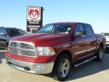 2009 Inferno Red Crystal Pearl Dodge Ram 1500 Lone Star Edition Crew Cab 4x4 #27071081
