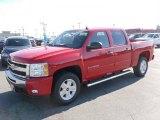 2010 Victory Red Chevrolet Silverado 1500 LT Crew Cab 4x4 #27071397