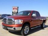 2008 Sunburst Orange Pearl Dodge Ram 1500 Big Horn Edition Quad Cab 4x4 #27071084