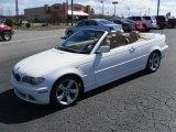 2004 Alpine White BMW 3 Series 325i Convertible #27071405