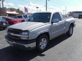 2004 Silver Birch Metallic Chevrolet Silverado 1500 Regular Cab #27071407