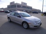 Brilliant Silver Metallic Ford Fusion in 2008