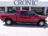 2006 Inferno Red Crystal Pearl Dodge Ram 1500 SLT Mega Cab #27071139