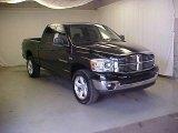 2007 Brilliant Black Crystal Pearl Dodge Ram 1500 Big Horn Edition Quad Cab 4x4 #27071321