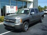 2007 Graystone Metallic Chevrolet Silverado 1500 LT Crew Cab #27070990