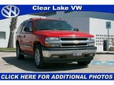 2005 Sport Red Metallic Chevrolet Tahoe LS 4x4 #27071462