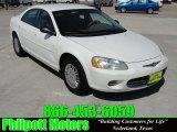 2002 Stone White Chrysler Sebring LX Sedan #27071163