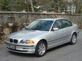2001 Titanium Silver Metallic BMW 3 Series 325i Sedan #27071027