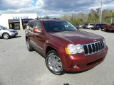 2008 Red Rock Crystal Pearl Jeep Grand Cherokee Limited #27071182