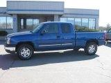 2003 Arrival Blue Metallic Chevrolet Silverado 1500 Z71 Extended Cab 4x4 #27113582